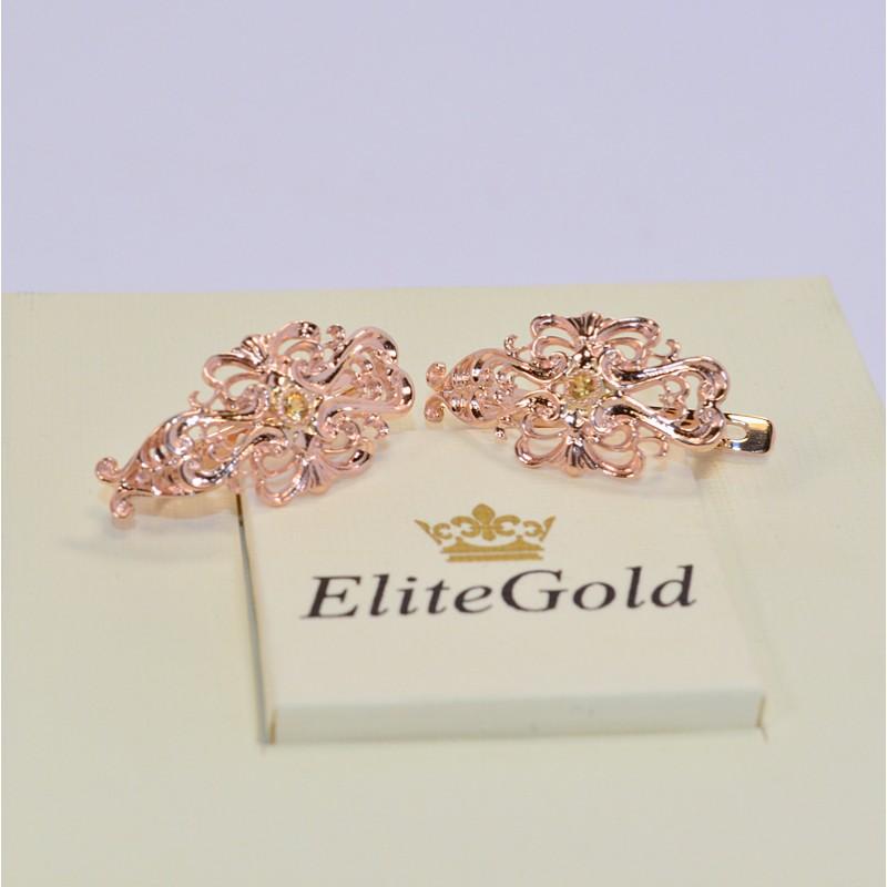 ажурные серьги от elitegold