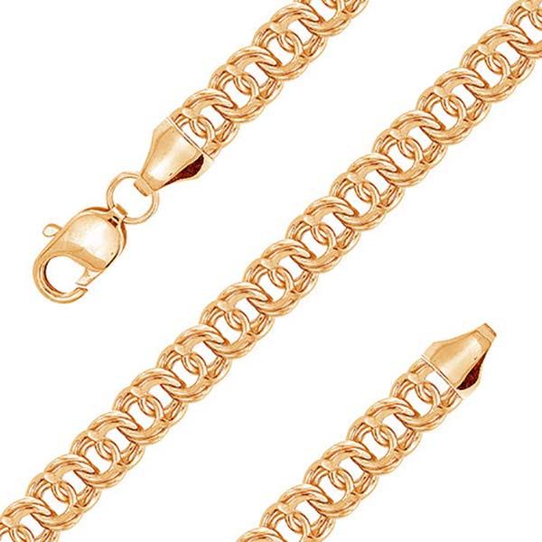 плетение бисмарк цепи от elitegold