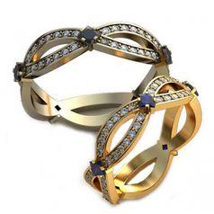 обручальные кольца пересечение
