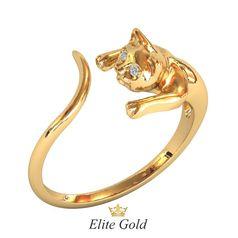золотое кольцо кошка