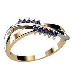 женское фигуристое кольцо