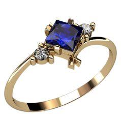 недорогое колечко для помолвки с камнями