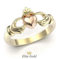 кладдахское ирландское кольцо без камней