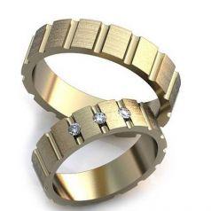 Авторские обручальные кольца Arina
