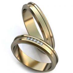 Авторские обручальные кольца с резьбой