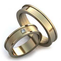 Авторские обручальные лаконичные кольца