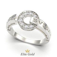 кольцо bvlgari bvlgari с камнями