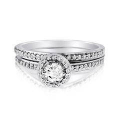 кольцо женское сет с камнями