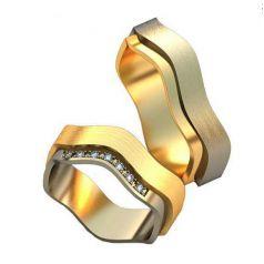 Авторские обручальные кольца Marianne