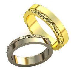 Авторские обручальные кольца Romio
