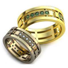 Авторские обручальные кольца Rima