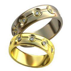 Авторские обручальные кольца Merelin