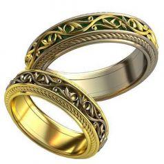 Авторские обручальные кольца Afina