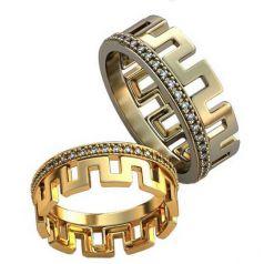 Авторские обручальные кольца Bridget