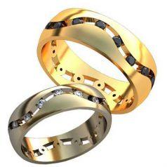Дизайнерские обручальные кольца Nona
