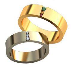 Авторские обручальные кольца Lealta