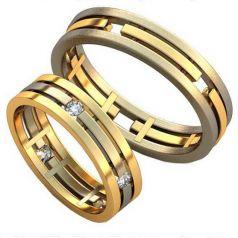 Авторские обручальные кольца Belli