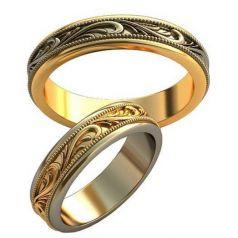 Авторские обручальные кольца Cleopatra
