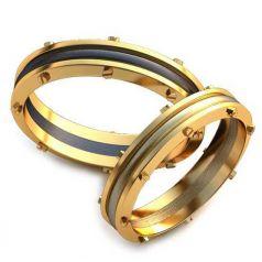 Авторские обручальные кольца Indigo