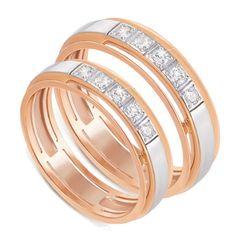 обручальные кольца с бортами