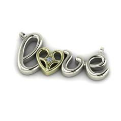 подвес в виде love