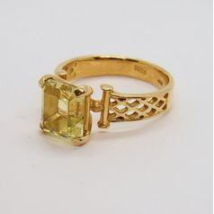 кольцо с бериллом фото