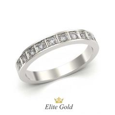 кольцо Aviva в белом золоте