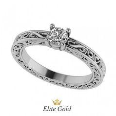кольцо Temperance в белом золоте