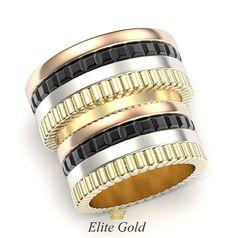 массивные кольца в стиле Кватро