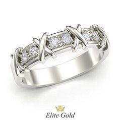 кольцо Caroline в белом золоте