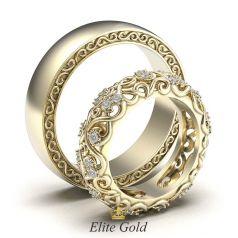 обручальные кольца Ника - версия 2