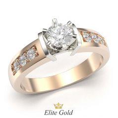кольцо Remi в 2 цветах золота