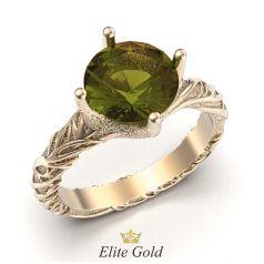Фантазийное кольцо Drea в красном золоте