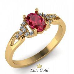 Золотое женское кольцо Obelia