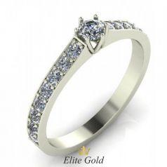 Золотое женское кольцо Edna