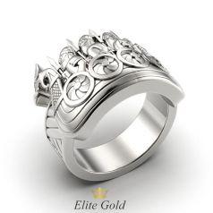 Золотое кольцо Рыцарь в доспехах