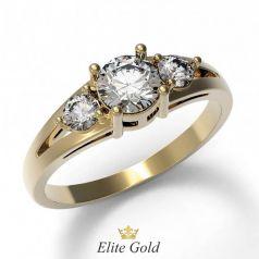 Золотое женское кольцо Sadi