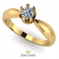 Золотое женское кольцо Edwina