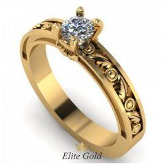 Золотое женское кольцо Edeline