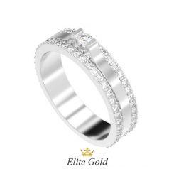 Золотое женское кольцо Saida
