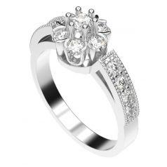 Золотое женское кольцо Odell