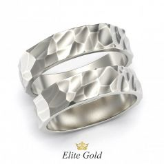 Золотые обручальные кольца Oriana