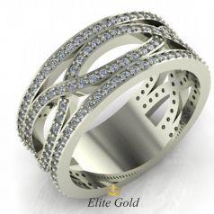 Золотое женское кольцо Odelia в камнях