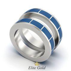 Золотые обручальные кольца Osanna с узорами