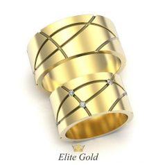 Золотые обручальные кольца Paladia