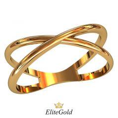 Дизайнерское лаконичное кольцо London