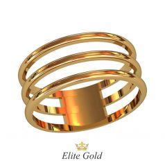 Лаконичное кольцо Triplet в виде трех полос