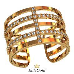 Трендовое широкое кольцо Lerato