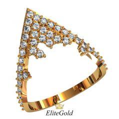 Креативное женское кольцо Elora нестандартной формы