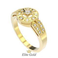 Дизайнерское женское кольцо Saahira в камнях